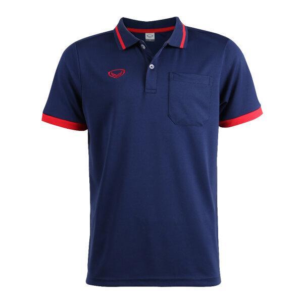 เสื้อโปโลชายแกรนด์สปอร์ต รหัสสินค้า : 012585 (สีกรม)