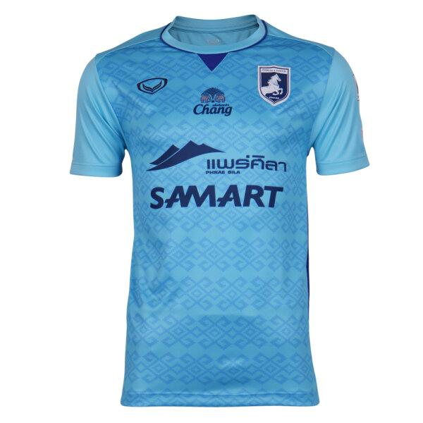 เสื้อฟุตบอลแพร่ยูไนเต็ด 2021 รหัส :038959 (สีฟ้า)