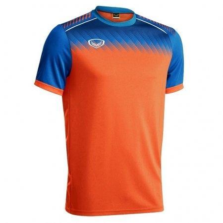 เสื้อกีฬาฟุตบอล แกรนด์สปอร์ต(สีส้ม) รหัส :011456