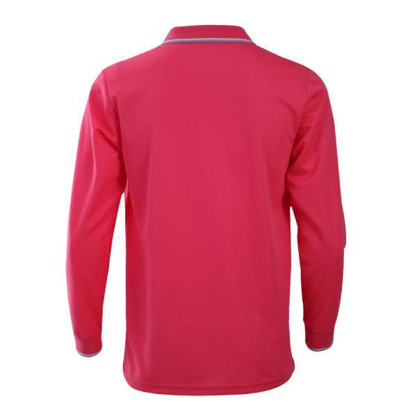 เสื้อโปโลชายแขนยาวแกรนด์สปอร์ต(สีบานเย็น) รหัส:012579