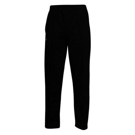 กางเกงวอร์มสีล้วนขาปล่อย (สีดำ) รหัส : 006183