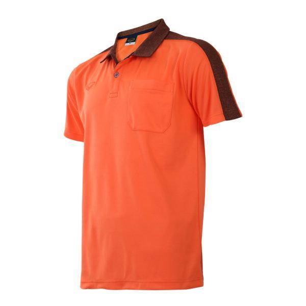 เสื้อโปโลชายแกรนด์สปอร์ต (สีส้ม)รหัสสินค้า : 012573