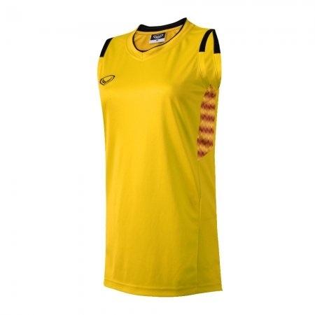 เสื้อบาสเกตบอลแกรนด์สปอร์ตหญิง(สีเหลือง)รหัส:013157