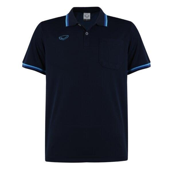 เสื้อโปโลชายแกรนด์สปอร์ต รหัส :012588 (สีกรม)