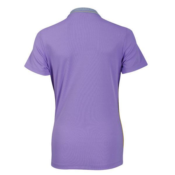 เสื้อโปโลหญิงสีม่วงแกรนด์สปอร์ต รหัส :012754