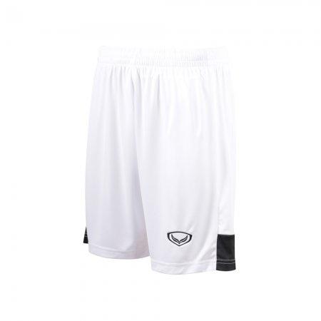 กางเกงฟุตบอลตัดต่อ แกรนด์สปอร์ต (สีขาว) รหัส : 001530