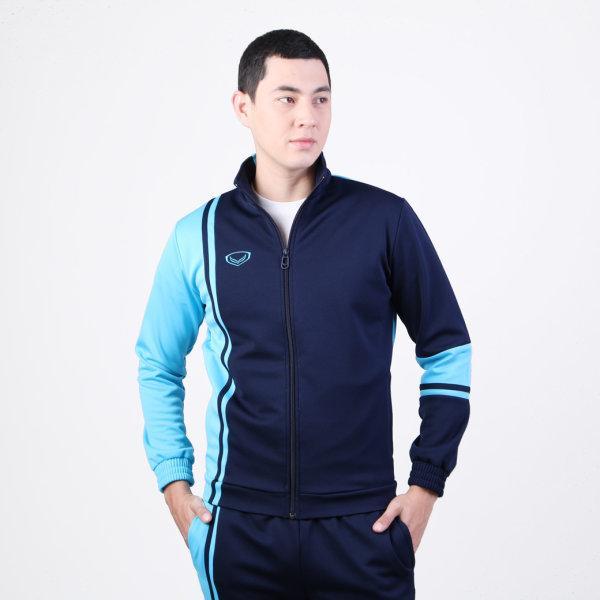 เสื้อวอร์มแกรนด์สปอร์ต รหัส :016369 (สีกรมฟ้า)