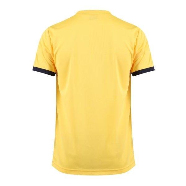 เสื้อกีฬาฟุตบอลตัดต่อ แกรนด์สปอร์ต รหัส : 011542 (สีเหลือง)