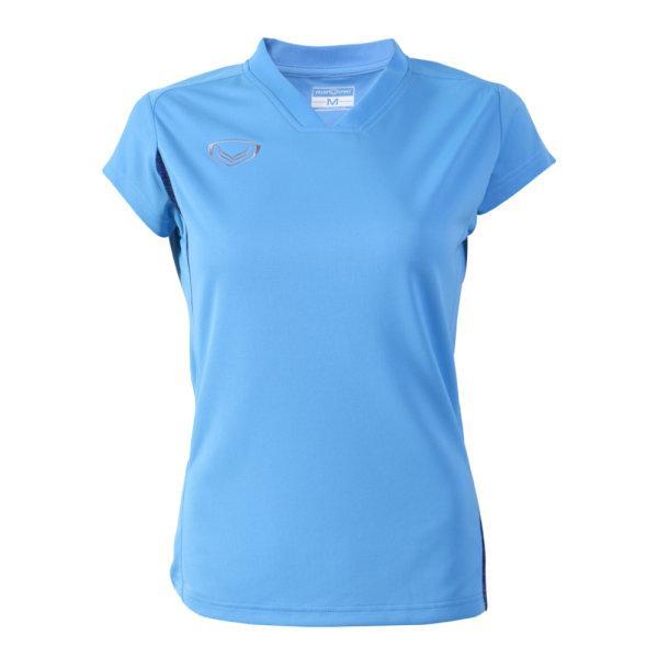 เสื้อกีฬาตัดต่อหญิง แกรนด์สปอร์ต(สีฟ้า) รหัส:014270