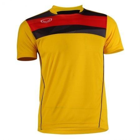 เสื้อฟุตบอลแกรนด์สปอร์ต (สีเหลือง) รหัส:011527