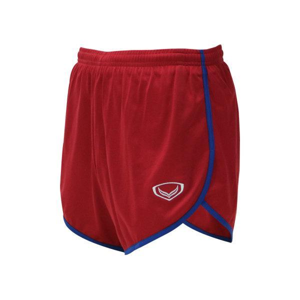 กางเกงวิ่งกุ้นข้างสีล้วน รหัสสินค้า : 007142 (สีแดง)