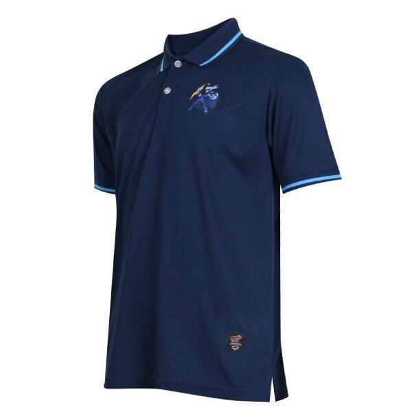 เสื้อคอปก ไทยลีก แบทเทิลบอล สายฟ้า รหัส :333311 (สีกรม)