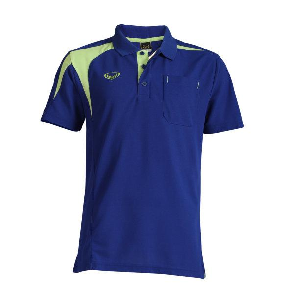 เสื้อโปโลชายแกรนด์สปอร์ต(สีน้ำเงิน) รหัส: 012498