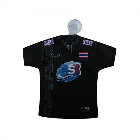เสื้อวอลเลย์บอลจิ๋วที่ระลึก (สีดำ) รหัส :014001