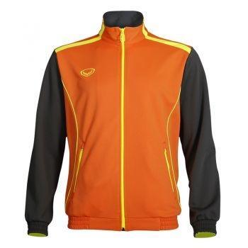 แกรนด์สปอร์ตเสื้อวอร์ม (ส้มเทา)  รหัสสินค้า : 016348