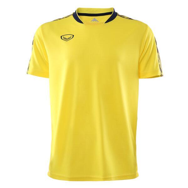 เสื้อคอปีนพิมพ์บ่า แกรนด์สปอร์ต (โอลิมปิก 2020) รหัส : 072049 (สีเหลือง)