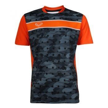 เสื้อประตูฟุตบอล แขนสั้น แกรนด์สปอร์ต รหัสสินค้า : 018093 (สีดำ)
