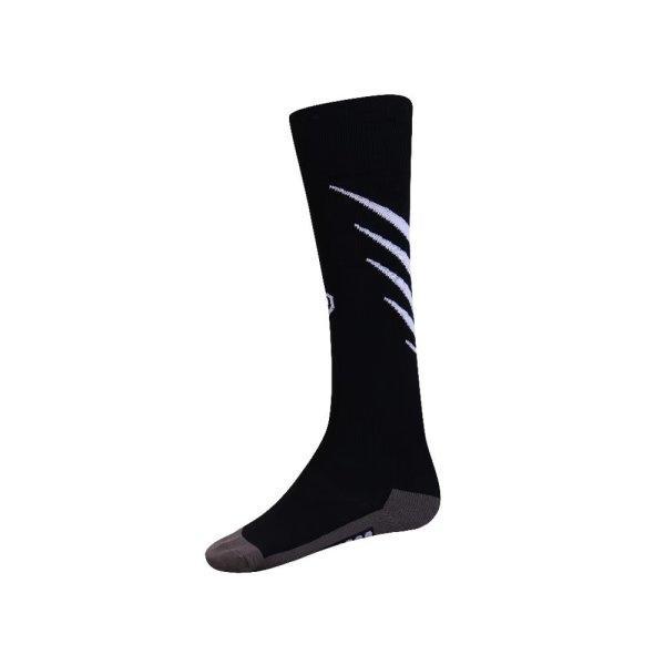 ถุงเท้ากีฬาฟุตบอลทอลาย  รหัส :025135 (สีดำ)