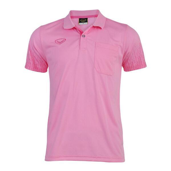 เสื้อโปโลชายแกรนด์สปอร์ต(สีชมพู) รหัส : 012563