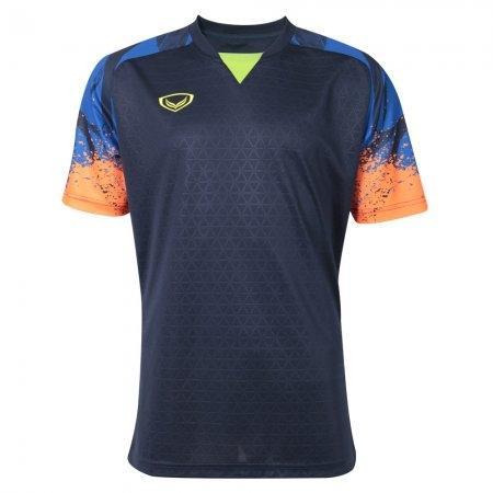 เสื้อฟุตบอลแกรนด์สปอร์ตรุ่น คาเมเลี่ยน(สีกรม) รหัส:038300