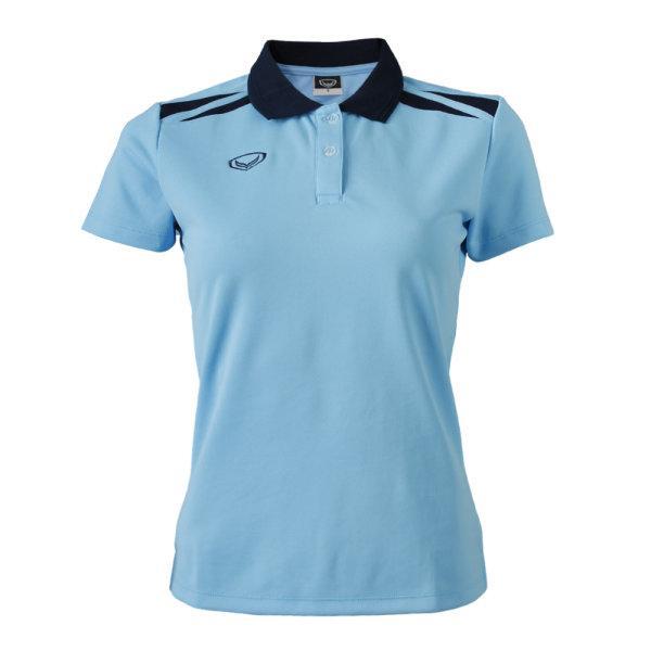 เสื้อคอปกหญิง แกรนด์สปอร์ต (สีฟ้า) รหัส :012694