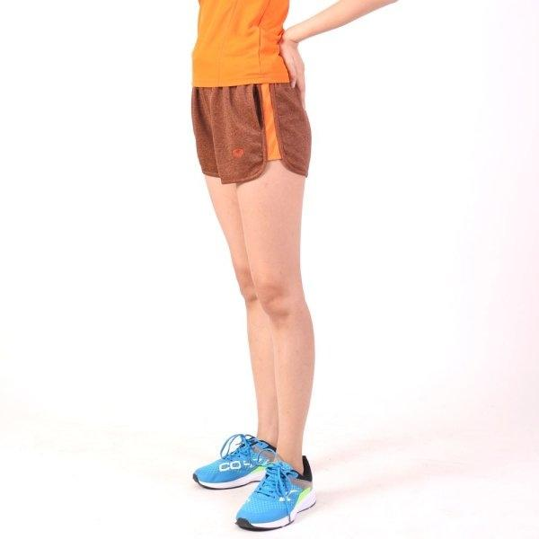 กางเกงขาสั้น แกรนด์สปอร์ต รหัส :028677 (สีส้ม)