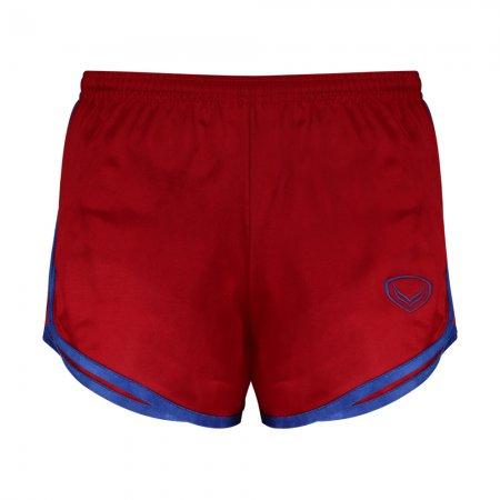 กางเกงวิ่งกุ้นข้างตัวและปลายขา (สีแดง) รหัส : 007121