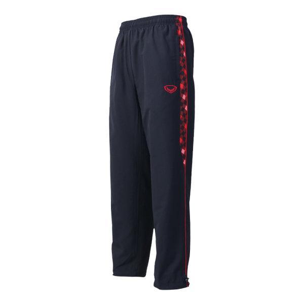 กางเกงแทร็คสูทแกรนด์สปอร์ต (สีดำแดง) รหัส: 010208