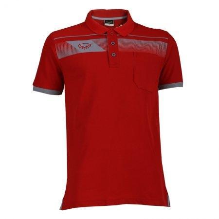 แกรนด์สปอร์ตเสื้อคอปกชาย (สีแดง) รหัส :012497