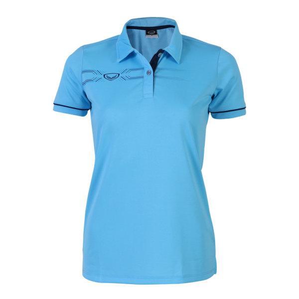 เสื้อโปโลหญิงแกรนด์สปอร์ต (สีฟ้า)รหัสสินค้า : 012774