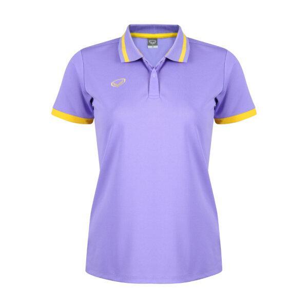 เสื้อโปโลหญิงแกรนด์สปอร์ต รหัสสินค้า : 012785 (สีม่วง)