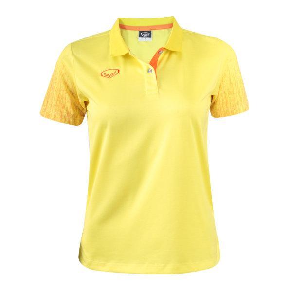 เสื้อโปโลหญิงสีเหลืองแกรนด์สปอร์ต(สีเหลือง) รหัส : 012763