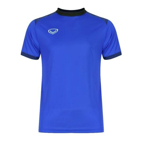 เสื้อกีฬาฟุตบอลตัดต่อรหัส: 011472 (สีน้ำเงิน)
