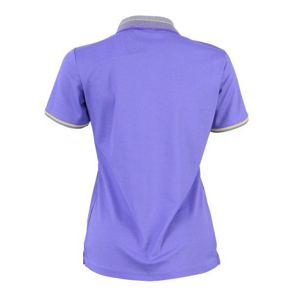 เสื้อโปโลหญิงสีม่วงแกรนด์สปอร์ต รหัส :012768