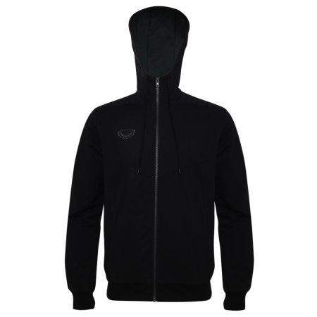 เสื้อวอร์มมีฮู้ด(สีดำ) รหัส : 023159