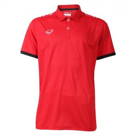 เสื้อโปโลชาย แกรนด์สปอร์ต (สีแดง) รหัส: 072035