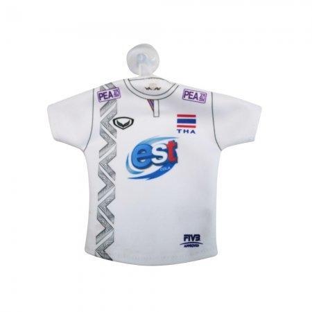 เสื้อวอลเลย์บอลจิ๋วที่ระลึก (สีขาว) รหัส :014001
