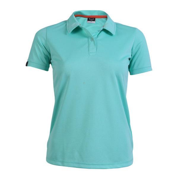 เสื้อโปโลหญิงแกรนด์สปอร์ต รหัสสินค้า : 012772 (สีเขียว)