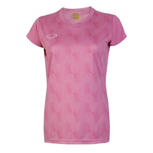 เสื้อวอลเลย์บอลหญิง(สีชมพู)รหัส:014303