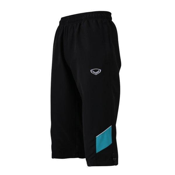 กางเกงขา 4 ส่วนตัดต่อข้าง รหัส : 002931 (สีดำ)