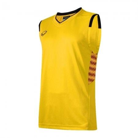 เสื้อบาสเกตบอลแกรนด์สปอร์ตชาย(สีเหลือง)รหัส:013156