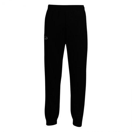 กางเกงวอร์มสีล้วนขาจั๊ม (สีดำ) รหัส : 006184