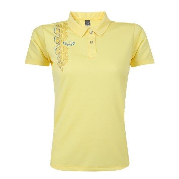 เสื้อโปโลหญิง แกรนด์สปอร์ต รหัส : 012783 (สีเหลือง)