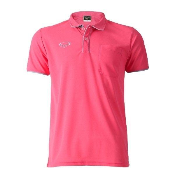 เสื้อโปโลชายแกรนด์สปอร์ต (สีชมพู)รหัสสินค้า : 012562