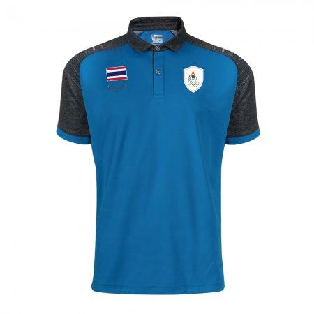 เสื้อโปโลทีมชาติไทย เอเชียนเกมส์ 2018(สีน้ำเงิน) รหัส :012235