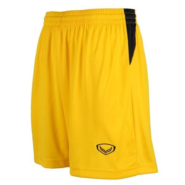 กางเกงฟุตบอลตัดต่อ   รหัส : 001554 (สีเหลือง)