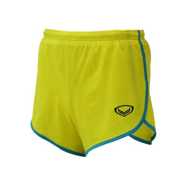 กางเกงวิ่งกุ้นข้างสีล้วน รหัสสินค้า : 007142 (สีเหลือง)