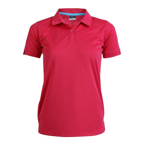 เสื้อโปโลหญิงแกรนด์สปอร์ต รหัสสินค้า : 012772 (สีแดง)