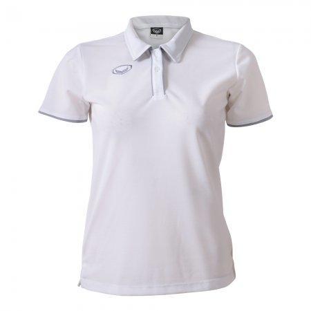 เสื้อโปโลหญิงแกรนด์สปอร์ต (สีขาว)รหัสสินค้า : 012762