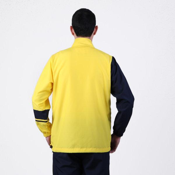 เสื้อแทร็คสูทแกรนด์สปอร์ต รหัสสินค้า : 020207 (สีเหลืองกรม)